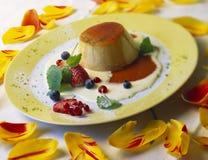 De Karamel van Crème Royalty-vrije Stock Fotografie