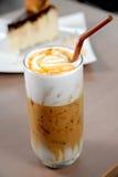 De karamel van de koffie Stock Foto's