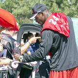 De Kardinalen Adrian Wilson van NFL Arizona   Royalty-vrije Stock Afbeeldingen