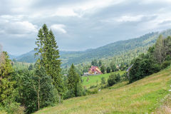 De Karpaten Oryavchyk stock afbeeldingen