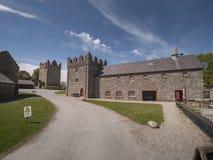 De kasteelafdeling in Noord-Ierland dichtbij Belfast is een populair oriëntatiepunt royalty-vrije stock afbeeldingen