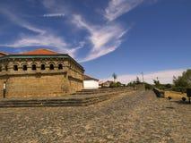 De kasteelweg Stock Foto