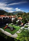 De kastelen van Belinzona Stock Fotografie