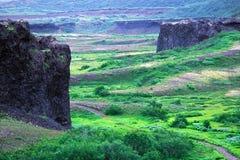 De Kastelen van het basalt royalty-vrije stock fotografie