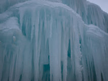 De Kastelen van het ijs Royalty-vrije Stock Foto's