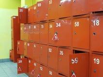 De kasten in de supermarkt Royalty-vrije Stock Fotografie