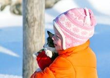 De kat is mijn vriend Royalty-vrije Stock Foto's
