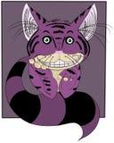 De Kat van Cheshire Royalty-vrije Stock Afbeeldingen