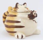 De kat van de herinnering met muis Royalty-vrije Stock Foto