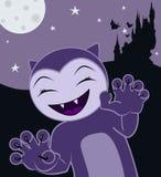 De kat van Halloween stock illustratie