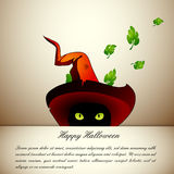 De Kat van Halloween Royalty-vrije Stock Foto