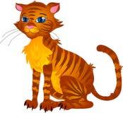 De kat van het beeldverhaal stock illustratie