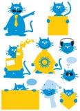 De kat van het beeldverhaal Royalty-vrije Stock Foto's