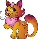 De kat van het beeldverhaal vector illustratie