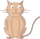De kat van het beeldverhaal Stock Afbeelding