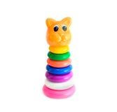 De kat van het stuk speelgoed Stock Afbeeldingen