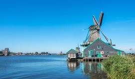 De Kat Windmill In Zaan Schans Stock Images