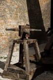 De katapult van de belegeringsmachine Royalty-vrije Stock Afbeeldingen
