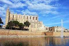 de katedralny palma Majorca zdjęcia royalty free