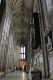 De Kathedraal binnenlands Engeland van Canterbury stock foto