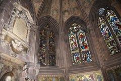 De Kathedraal of de Munster in Chester England stock foto's