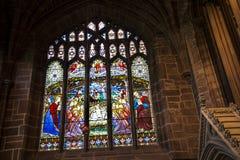 De Kathedraal of de Munster in Chester England royalty-vrije stock afbeelding