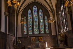 De Kathedraal of de Munster in Chester England royalty-vrije stock afbeeldingen