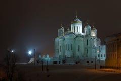 De kathedraal Dormition. Vladimir. Rusland Royalty-vrije Stock Afbeelding