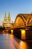 De Kathedraal Duitsland van Keulen Stock Fotografie