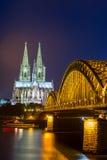 De Kathedraal Duitsland van Keulen Stock Foto