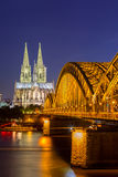 De Kathedraal Duitsland van Keulen Royalty-vrije Stock Afbeelding
