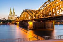 De Kathedraal Duitsland van Keulen Royalty-vrije Stock Fotografie