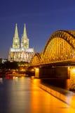De Kathedraal Duitsland van Keulen Stock Afbeelding