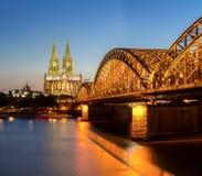 De Kathedraal Duitsland van Keulen Stock Foto's