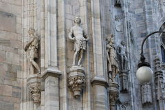 De kathedraal Duomo, Koepel van Milaan Royalty-vrije Stock Afbeeldingen