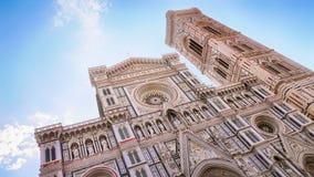 De Kathedraal en de Brunelleschi-Koepel, Florence Italy stock foto
