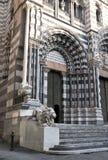 De kathedraal Genua van San Lorenzo royalty-vrije stock foto's