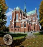 De Kathedraal Heilige Familie in CzÄ™stochowa Royalty-vrije Stock Foto