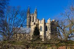 De Kathedraal het Verenigd Koninkrijk van Canterbury Stock Afbeelding