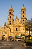 De Kathedraal Jalisco Mexico van Guadalajara Zapopan Catedral Royalty-vrije Stock Afbeeldingen