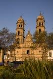 De Kathedraal Jalisco Mexico van Guadalajara Zapopan Catedral Stock Foto