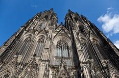 De kathedraal in Keulen royalty-vrije stock afbeeldingen