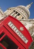 De Kathedraal Londen van heilige Paul Stock Afbeeldingen