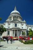 De kathedraal Londen van heilige pauls Stock Foto's