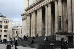 De Kathedraal Londen van Saint Paul ` s Stock Fotografie