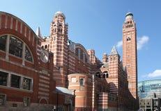 De Kathedraal Londen van Westminster Royalty-vrije Stock Afbeeldingen