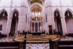 De Kathedraal Madrid van Almudena Stock Foto's