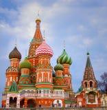 De Kathedraal op het Rode Vierkant Royalty-vrije Stock Foto's