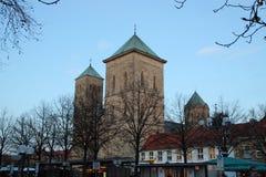 De kathedraal in Osnabrück royalty-vrije stock foto