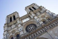 De Kathedraal Parijs van Notre Dame Stock Foto's